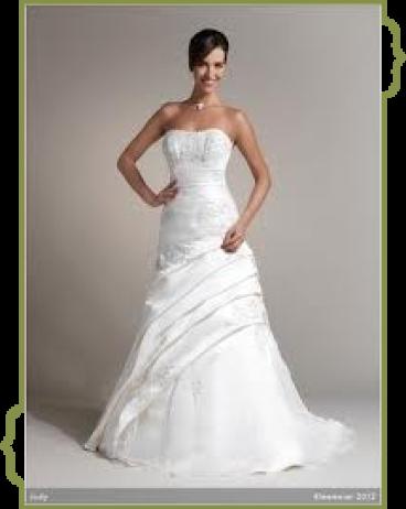 Brautkleid von Kleemeier im Fachgeschäft