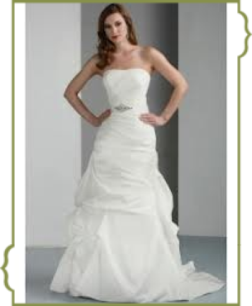 Weißes Brautkleid von Weise bei Brautmoden kistler